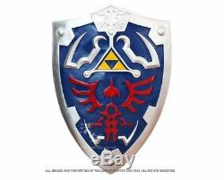 11 Full SIze Link's Hylian Shield from the Legend of Zelda with Arm Holder New