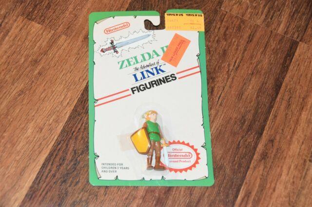 1989 New Vintage Nintendo Legend Of Zelda Link Figure Pvc Nes Applause Figurine