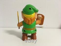 1989 Nes Nintendo Link Legend Of Zelda Wind Up Walking Toy Vintage Rare
