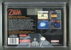 1996 Super Nintendo SNES Player's Choice LEGEND OF ZELDA LINK TO THE PAST VGA 85