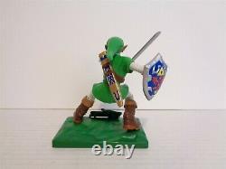 2003 Joyride Nintendo Legend of Zelda Ocarina Time Link Action Figure Complete