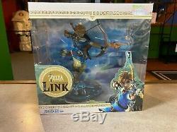 2019 Dark Horse The Legend of Zelda Breath of the Wild LINK PVC Figure 9 NIB