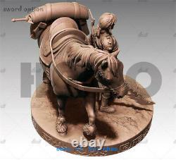 30cm The Legend of Zelda Link Resin Model Kits Unpainted 3D Printing Figure