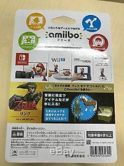 3DS Amiibo Link Twilight Princess The Legend of Zelda Japan Import