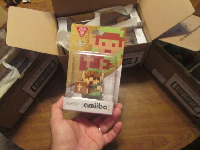 8-bit Link Amiibo The Legend Of Zelda 30th Year Edition Us 1' First Print