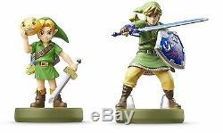 Amiibo Legend of Zelda Link Majora's Mask & Skyward Sword Nintendo JP