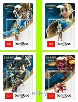 Amiibo Link Archer Rider Zelda Bokoblin Legend Breath of Wild Japan switch