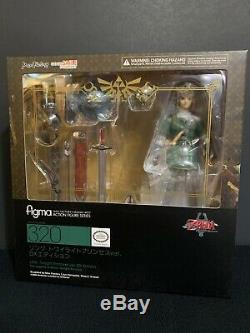 Authentic Figma 320 Twilight Princess DX Link Legend of Zelda Official Figure US