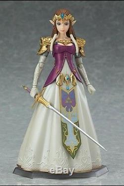 Authetic Figma The Legend of Zelda Twilight Princess Plus LINK Action Figure SET