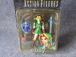 BD&A Nintendo 64 Legend of Zelda Link Action Figure (Sealed) Game Memorabilia