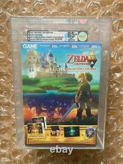 Brand New Legend Of Zelda A Link Betweend Worlds Collector's Vga Gold Graded 85+
