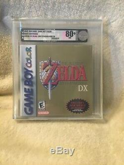 Brand New Sealed Legend Of Zelda Link's Awakening DX Game Boy VGA Graded 80+