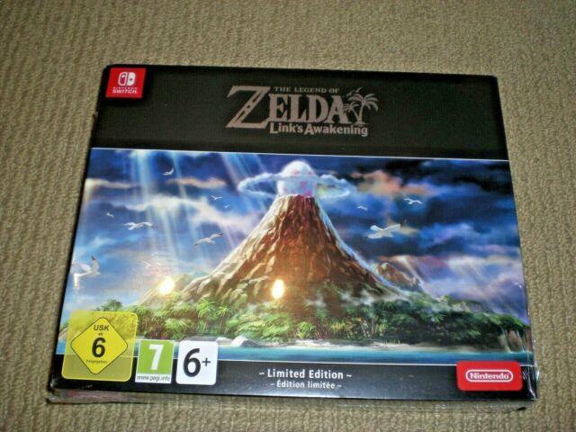 Brand New The Legend Of Zelda Link's Awakening Limited Edition Nintendo Switch