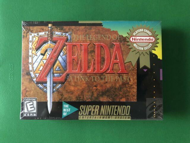 Brand New Sealed The Legend Of Zelda A Link To The Past For Snes Super Nintendo
