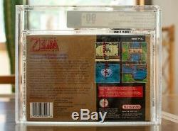 Brand new sealed The legend of ZeldaA link to the past SNES VGA graded 90+ GOLD