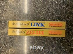 Collectors Condition The Legend of Zelda The Adventure Of Link Bundle (NES)