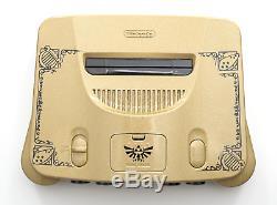Custom Painted Link The Legend of Zelda Ocarina of Time Nintendo 64 N64 Console