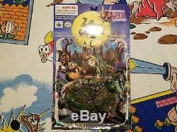 DAMAGED 2001 Epoch CWorks Legend of Zelda Majora's Mask Link SET Figure Nintendo