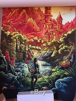 Dan Mumford Legend of Zelda Link's Awakening Art Print Poster 1988 Gallery