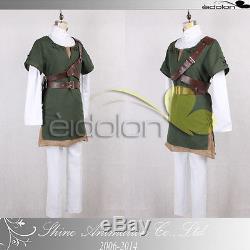 EE0079AA The Legend of Zelda Link Cosplay Costume
