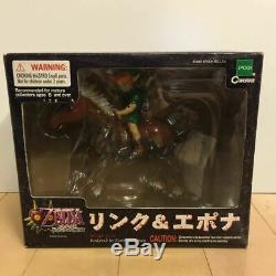 EPOCH The Legend of Zelda Majora Mask 112 link & Epona figures