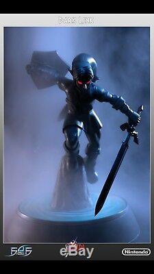 F4F Dark Link Exclusive Statue Legend of Zelda NIB Rare