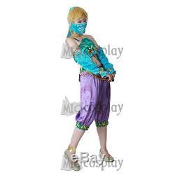 Female Zelda Link Gerudo Cosplay Costume The Legend of Zelda Breath of the Wild