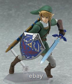 Figma Legend of Zelda Link Twilight Princess Action Figure NEW