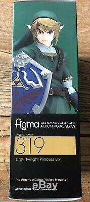 Figma Legend of Zelda Twilight Princess Link