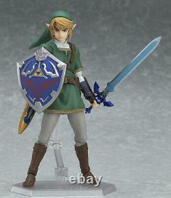 Figma The Legend of Zelda Twilight Princess Link 320 DX Edition Action Figure