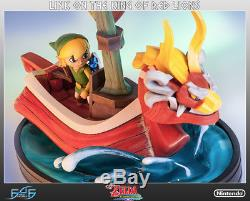 First4Figures Legend of Zelda Wind Waker Link on the King of Red Lions