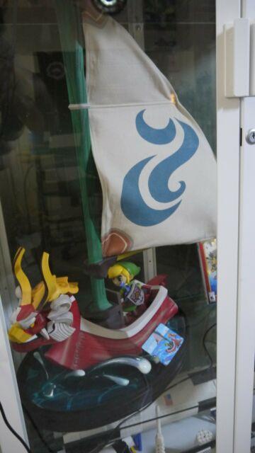 First4figures Legend Of Zelda Wind Waker Link On The King Of Red Lions Reg. #636