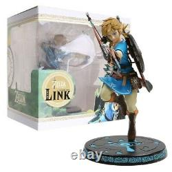 First4 The Legend of Zelda Breath Of The Wild-Link Statue 10 inch PVC Statue