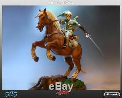 First 4 Figure Link On Epona Statue Legend Of Zelda Statue Nintendo Link Statue