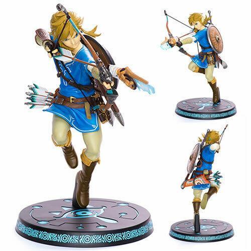 First 4 Figure The Legend Of Zelda Breath Of The Wild Link 10 Pvc Statue Figure