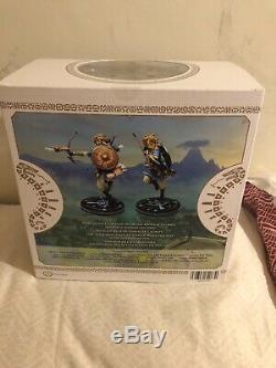 First 4 Figures Legend Of Zelda BOTW Link Figure
