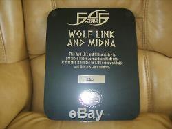 First 4 Figures Legend of Zelda Twilight princess, Wolf Link and Midna. #240