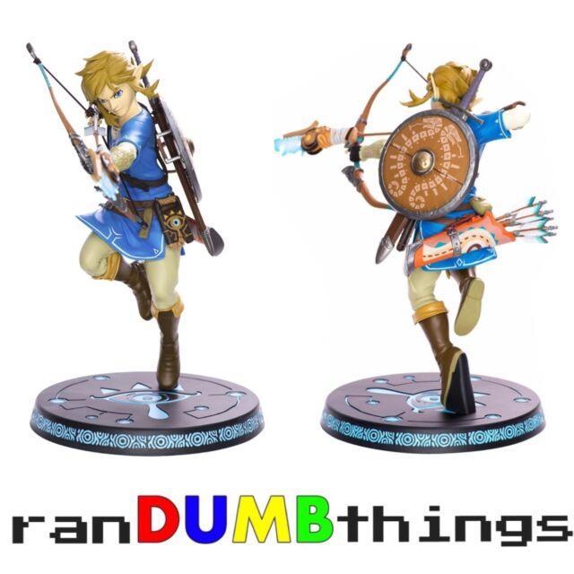 First 4 Figures The Legend Of Zelda Breath Of The Wild Link 11 Statue