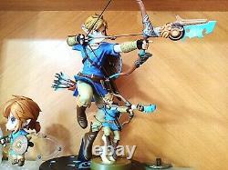 First 4 Figures The Legend of Zelda Breath of the Wild link FIGURES In Stock