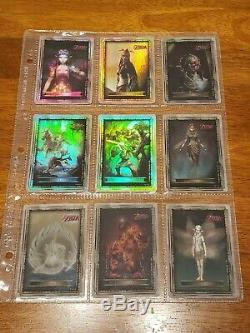 GOLD FOILS 2007 Legend of Zelda Twilight Princess Card Packs G1- G9 RARE