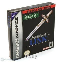 GameBoy Advance Legend of Zelda 2 Adventure of Link NES Classics Modul