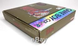 Game Boy Color Legend of Zelda Links Awakening DX Compete CIB Holo Box