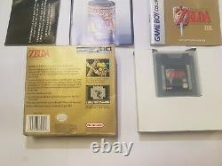 Game Boy Color The Legend of Zelda Link's Awakening DX USA Version RARE