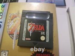 Game Boy Color The Legend of Zelda Link's Awakening DX USA Version ULTRA RARE