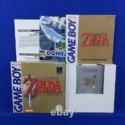 Gameboy ZELDA The Legend of LINK's AWAKENING Region Free PAL Game Boy