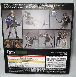 GoodSmile The Legend of Zelda Twilight Princess Link DX Edition Figma Figure