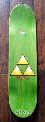 Hook-Ups Female Link Skateboard Deck NOS Legend of Zelda Nintendo Kawaii Anime