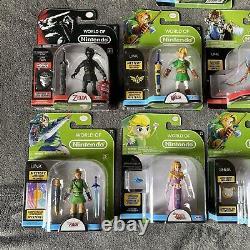 Huge World Of Nintendo Legend Zelda 4 RARE NIB Link Shiek Skull Kid Lot