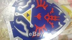 Hylian Shield of Link Legend Of Zelda Metal Full Size Adult Link's Hylian Shield