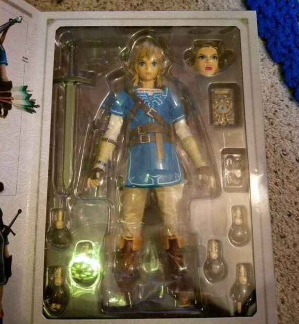 In Hand Medicom Rah The Legend Of Zelda Breath Of The Wild Link 1/6 Action